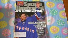 Wayne Gretzky retires -Sports illustrated a 4/26/1999