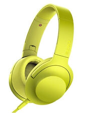 Sony Mdr100aap H.ear on Hi-res Over-ear Headphones Headset Yellow