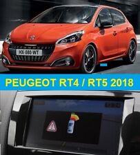PEUGEOT RT4 RT5 2018 Navigatie Europa set (13xcd) NIEUW