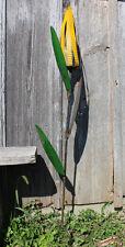 Recycled Metal Corn Stalk Stake Garden Decor Yard Accent