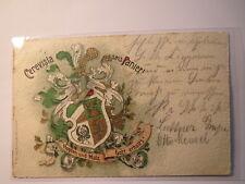 Berlin - Cerevisia --> Corps Cimbria - Wappen - Karte / Studentika