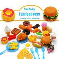 8er Kunststoff Essen Lebensmittel Kinderküche Spielküche Küchenspielzeug