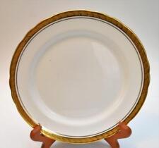 "AYNSLEY Bone China England Gold Encrusted Border MAJESTIC 8 1/2"" Plate #8370"