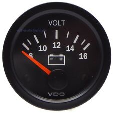 VDO Vision Voltmeter 8-16V (126.011)
