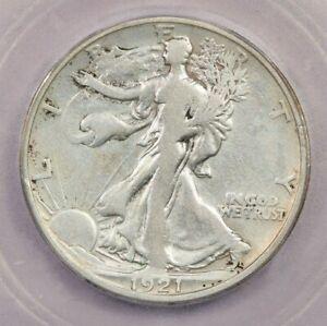 1921-S 1921 Walking Liberty Half Dollar 50C ICG F12 Details