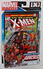 HASBRO Marvel Universe X-MEN COLOSSUS & JUGGERNAUT Greatest Battles Comic Book