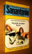 COMMISSARIO SANANTONIO # 14^ INCHIESTA -FELICIE & SANà S.P.A. - BERù -1971