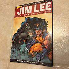 Jim Lee Millennium Edition Wizard Entertainment Hardcover RARE Batman Wolverine