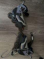 Ultra Wheels Rollerblades Women's Inline Skate Size 5 Us blue 72mm wheel