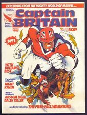 Captain Britain New Series No 1 January 1985 in VG condition      (SH1)