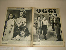 OGGI=1953/40=MADONNA LACRIME SIRACUSA=SELLINA GUALCO=RUGGERO ROLLA=VACANZE ROMAN