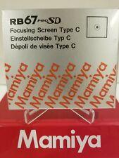 Mamiya RB 67 PRO SD / PRO S  FOCUSING SCREEN ( TYPE C / MICROPRISM )