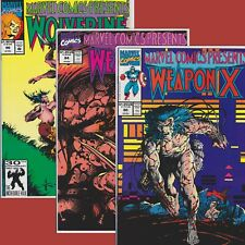 New listing Marvel Comics Presents 80, 84, 96 - Weapon X, Wolverine, Cable