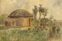 J. E. Wood - Early 20th Century Watercolour, Rural Scene