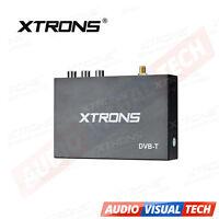 XTRONS Car External DVB-T TV Tuner Receiver Freeview Digital TV Box Antenna