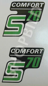 Aufkleber Simson S70 COMFORT