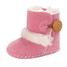Winter Boy Girls Baby Soft Sole Snow Boots Warm Crib Shoes Toddler Boots Prewalk