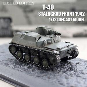 WWII RUSSIA T-40 STALNGRAD FRONT 1942 1/72 DIECAST MODEL TANK War Master