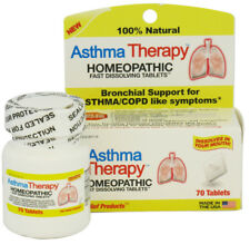 Homeopathic Asthma Therapy Quick-Dissolve Tabs, 70 Ct (9 Pack)