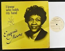 BLACK GOSPEL LP Eugenia Moore Moores Celestial 222 I Know Who Holds My Hand