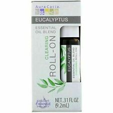 Aura Cacia Essential Oil blend Roll-On 0.31 Fl Oz - Choose your Scent