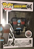 Claptrap Borderlands Pop! Games Funko NIB new in box 44 Gamestop Exclusive