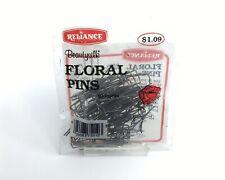Reliance Beautysilk Floral Pins 2 inch 60 count for Moss Floral Foam Wet Foam