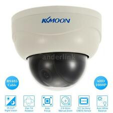 "KKmoon Security 3"" Dome AHD PTZ IR Camera 1080P Auto Focus IP64 CCTV System T7G9"