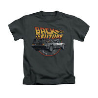 BACK TO THE FUTURE TIME MACHINE Toddler & Boy Graphic Tee Shirt 2T 3T 4T 4 5-6 7