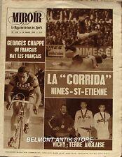 Miroir Sprint n°1239 - 1970 - Nimes Saint Etienne - Georges Chappe - Mike Tagg -