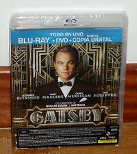 EL GRAN GATSBY - PACK COMBO BLU-RAY + DVD - DRAMA - NUEVO - PRECINTADO-ROMANTICO
