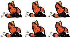 Anne Geddes Baby Scrapbook Stickers! Monarch Butterfly Set of 6!