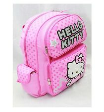 "NWT Sanrio Hello Kitty Large Backpack Bag 16"" Pink Authentic Licensed by Sanrio"