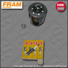 SERVICE KIT PEUGEOT 206 2.0 16V GTI FRAM OIL FILTER NGK SPARK PLUGS (1999-2005)