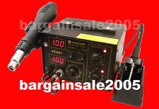 2 in 1 Hot Air Digital Soldering Rework Station SMD OZ