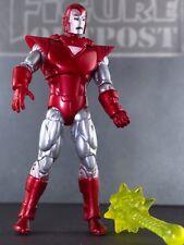 "IRON MAN 2010 Silver Centurion Marvel COMPLETE 3.75"" Figure MOVIE 2 COMIC SERIES"
