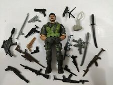 """3.75"""" Gi Joe the Corps Soldier #621 with 5pcs Weapons Rare Action Figure"""