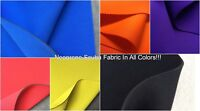 Neoprene Scuba Knit Fabric Polyester Spandex Sold BTY 58'' Wide All Colors