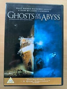 Ghosts of the Abyss DVD 2003 James Cameron IMAX Titanic Underwater Documentary