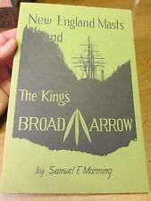 New England Mast and the King's Broad Arrow by S. F. Manning (1979, Paperback)
