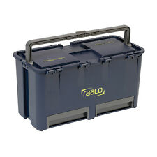 NEW RAACO COMPACT 27 TOOLBOX WITH 6 INSERTS  DURABLE LIGHTWEIGHT DESIGN - 136587