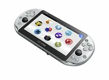 PlayStation Vita Wi-Fi Model Silver PCH-2000ZA25 From Japan New