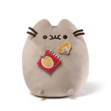 """GUND Authentic Pusheen with Potato Chip bag Stuffed Plush 9.5"""" inches"""