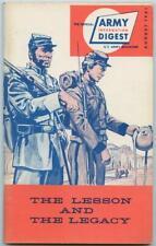 August 1961 Vietnam War Us Army Information Digest Magazine