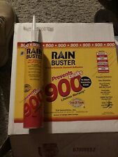 6 Tubes Of White Rain Buster 900 Water proofing sealant prevents leaks