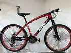 """Bicicleta DE MONTAÑA 26 Zoll JOVEN """"Frrx"""" MTB 21 Gang rojo-negro"""