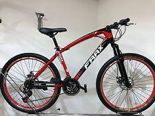 "Bicicleta de montaña 26 pulgadas juventud bicicleta bicicleta ""frrx"" MTB 21 marchas rojo-negro"