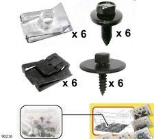 Unterfahrschutz Einbausatz Unterboden Repair Kit CLIPS ,Mercedes W 203    90216