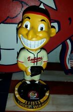 Cleveland Indians CHIEF WAHOO Bobblehead 1948 Baseball Lindor Kluber Omar Thome