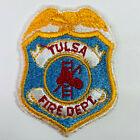 "Tulsa Fire Department Oklahoma OK Patch (F6-B) 3"""